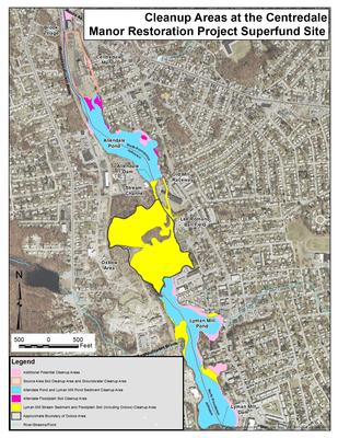 Map of Cleanup Areas