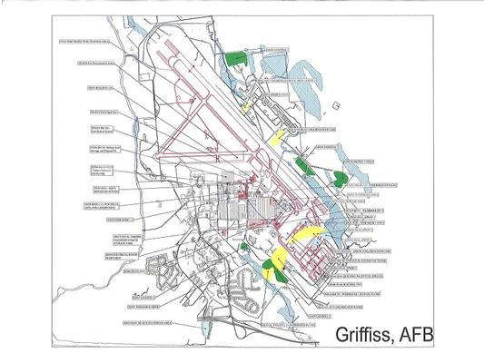 Griffiss Air Force Base 11 Areas Superfund Site Profile - Map-of-air-force-bases-in-us