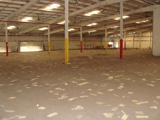 empty warehouse 2009