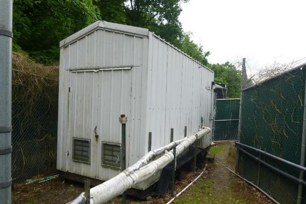 Aqueous phase treatment system trailer