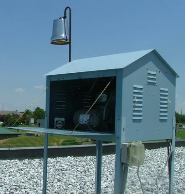 Air Monitor used as Site during Removal Program activities