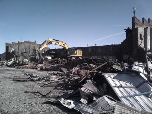 Building demolished during OU1 cleanup.