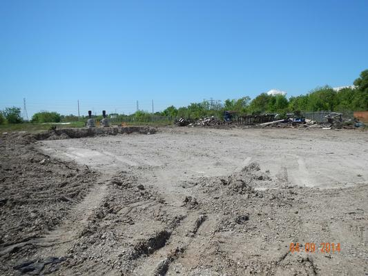 Area after Bioreactor was Removed