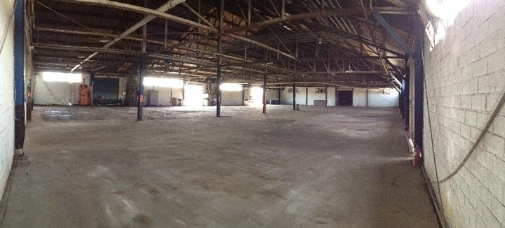 Warehouse after Removal of Drums and Totes