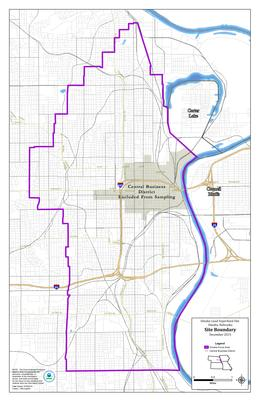 Omaha Lead Superfund Site Profile Superfund Site Information - Omaha-on-us-map