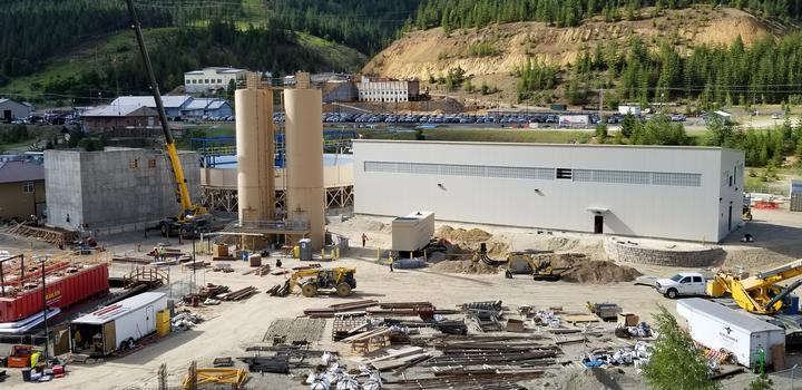 The Central Treatment Plant/Groundwater Collection System project, near Kellogg, will greatly reduce metals pollution going into the South Fork CDA River.