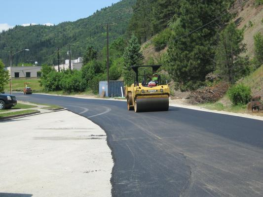 A big shout-out to all of the engineers and contractors who carried out the Paved Roads Program! The program benefits the local economy and infrastructure, and the paving serves as a barrier to contamination.