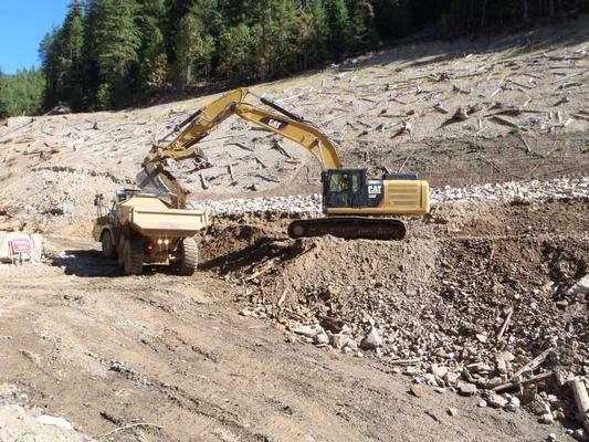 The Success Mine cleanup helps protect downstream waterways from heavy metals contamination.