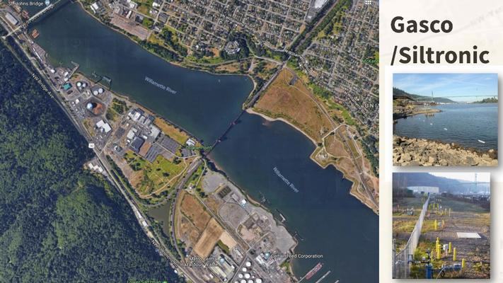 Portland Harbor Superfund Site, Gasco-NW Natural/Siltronic